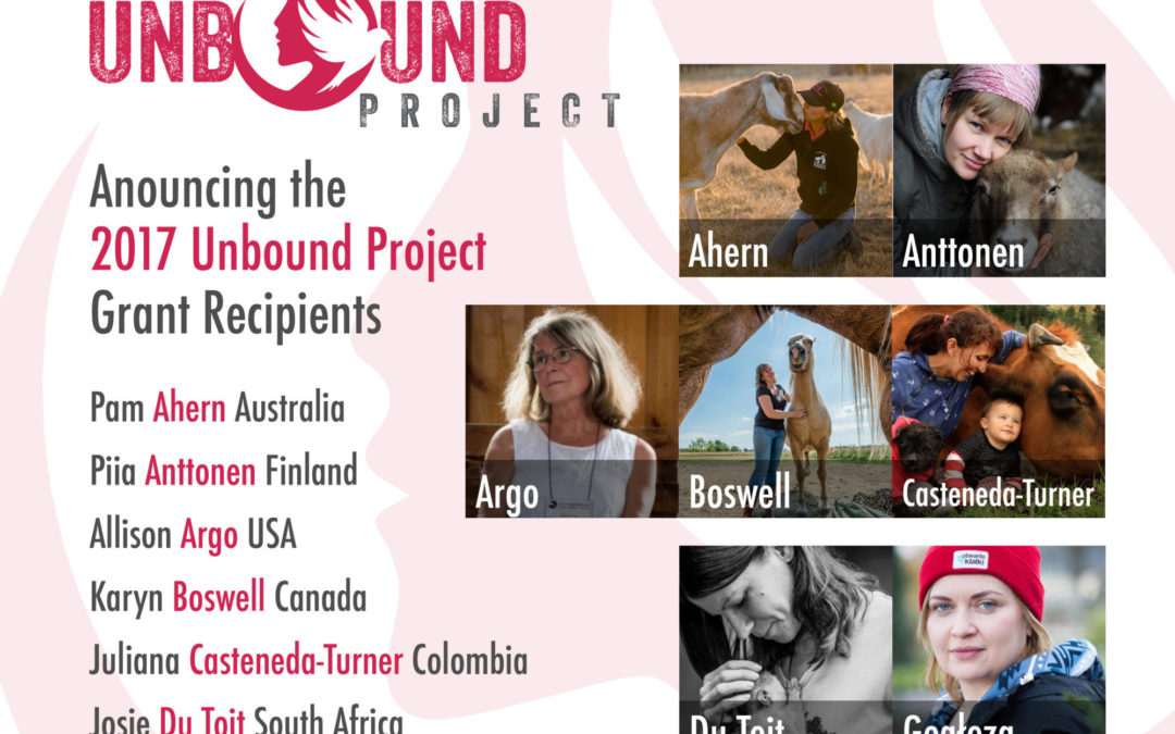 The 2017 Unbound Project Grant Recipients