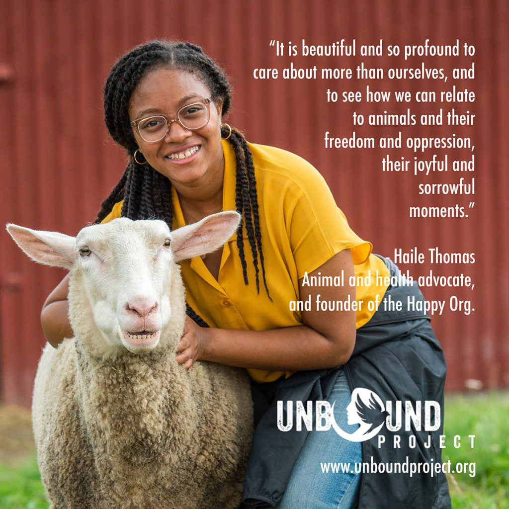 Young Women Changing The World For Animals