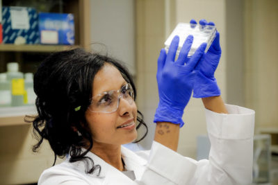 Dr. Charu Chandrasekera - Executive Director of the Canadian Centre for Alternatives to Animal Methods.