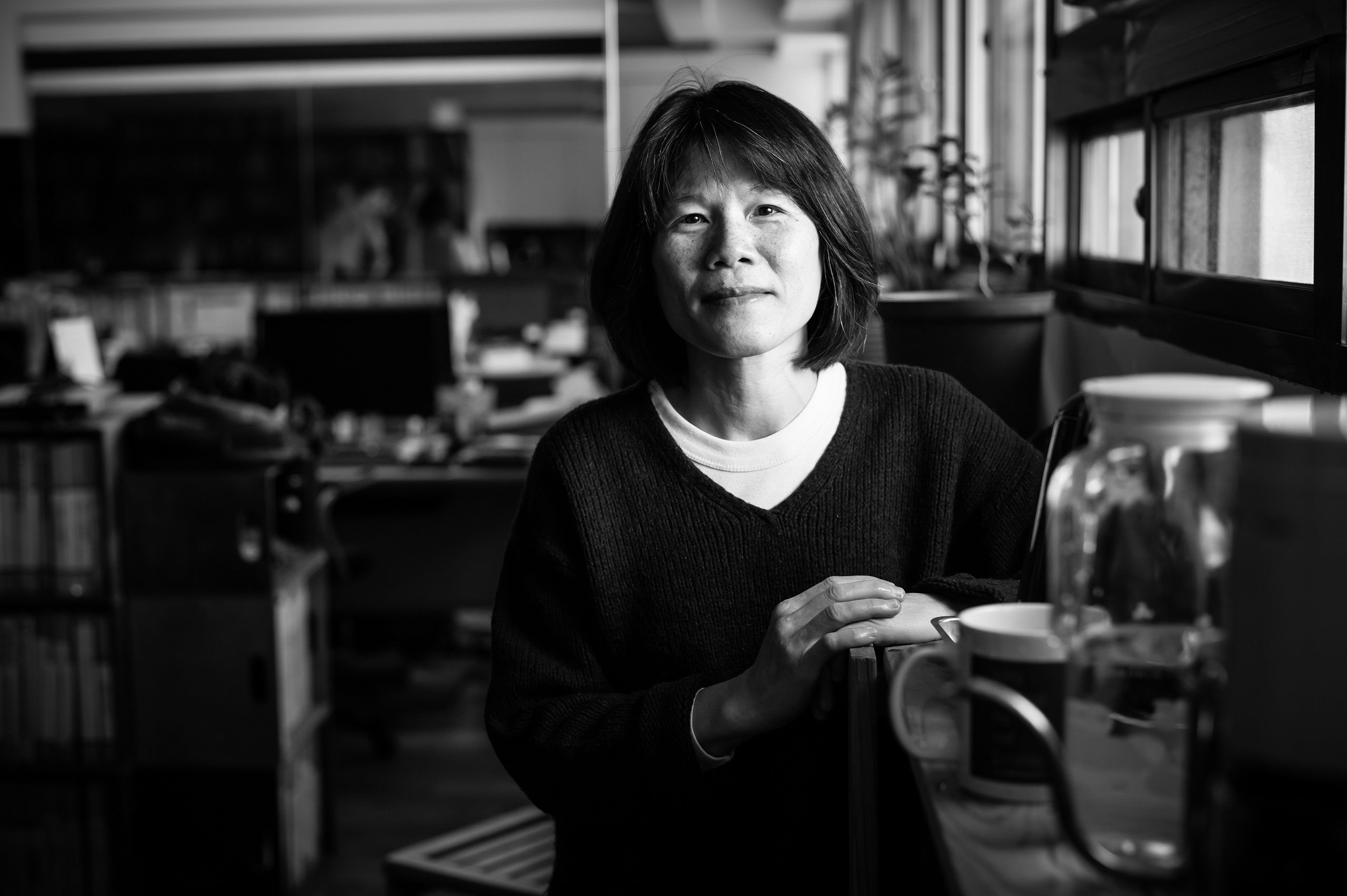Yumin is a long-time animal advocate who works with EAST (Environment and Animal Society of Taiwan). Taiwan, 2019. Jo-Anne McArthur / #unboundproject / We Animals Media